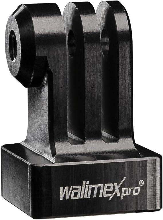 Walimex Pro Aluminium Gopro Stativadapter 1 Kamera