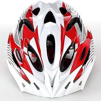 TOUK Casco para Bicicleta de Carretera de Seguridad Ultraligera Casco para Bicicleta de Carretera Mountain Bike MTB Racing Casco de Ciclismo 18 buche 56 ...