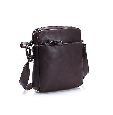 Lrsny Bolso bandolera en piel,mochila hombre,mochila.: Amazon.es: Ropa y accesorios