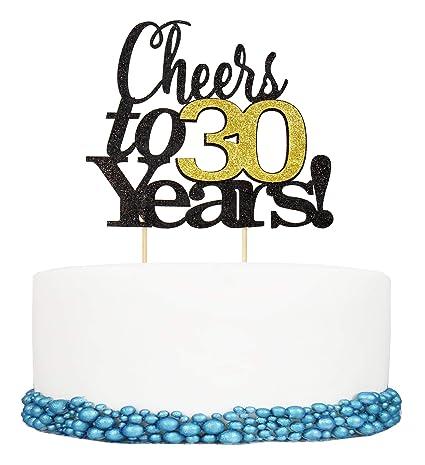 Adorno para tartas de cumpleaños de 40 años para cumpleaños ...