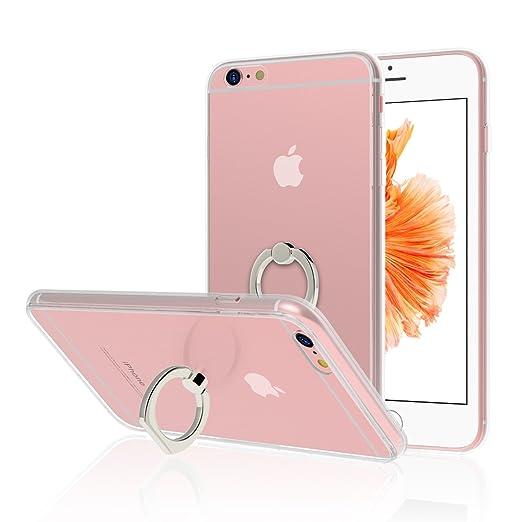 10 opinioni per Custodia iPhone 6s, JETech [Rotazione Grip Ring Kickstand] Case Custodia Cover