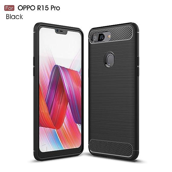 official photos 94ad5 bcd08 Amazon.com: Oppo R15 Pro Case - TianTa - Carbon Fiber Case Ultra ...