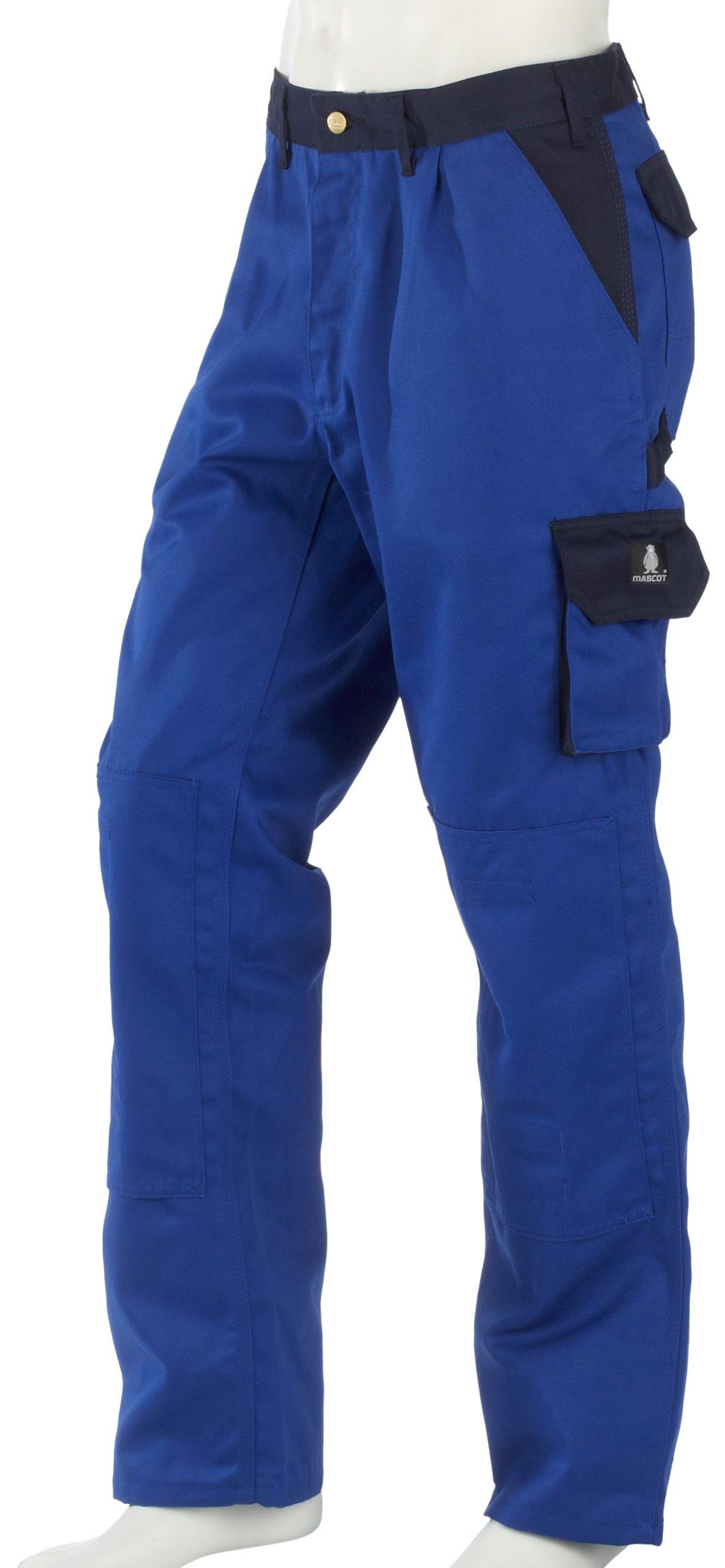 Mascot 00979-430-1101-82C50''Torino'' Trousers, Cornflower Blue/Marine Blue, L82cm/C50