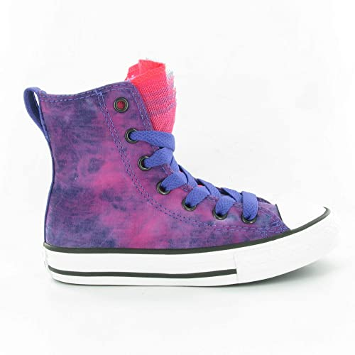 bfe24027b7fb72 Converse Kids Baby Girls Chuck Taylor All Star Party Hi (Infant Toddler)  Nightshade Diva Pink 2 Infant M  Amazon.ca  Shoes   Handbags