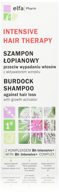 Elfa PHARM Intensive Hair Therapy Arctium Champú con BH Intensive + Complejo contra caída del cabello con pelo Crecimiento, activador 100 ml: Amazon.es: ...