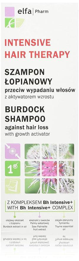 Elfa PHARM Intensive Hair Therapy Arctium Champú con BH Intensive + Complejo contra caída del cabello