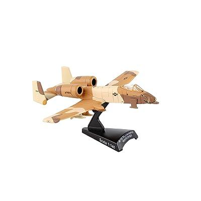 Daron Postage Stamp A-10 Warthog Peanut Scheme USAF Vehicle (1/140 Scale): Toys & Games