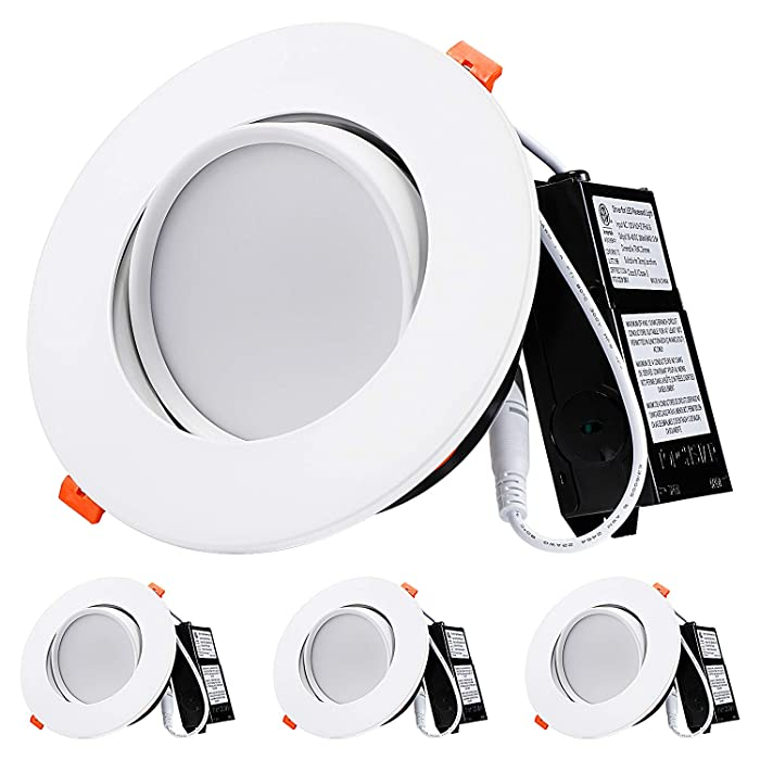 Top 10 6 Inch Recessed Can Lights Food Grade Lens