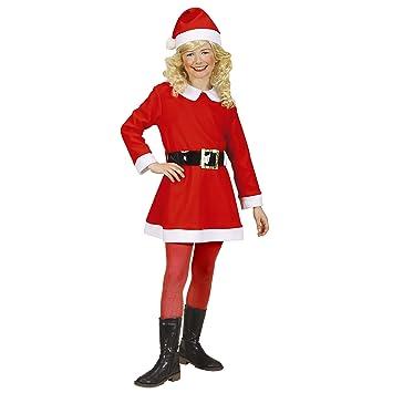 WIDMANN Widman - Disfraz de Papá Noel para niña, talla 4-5 ...