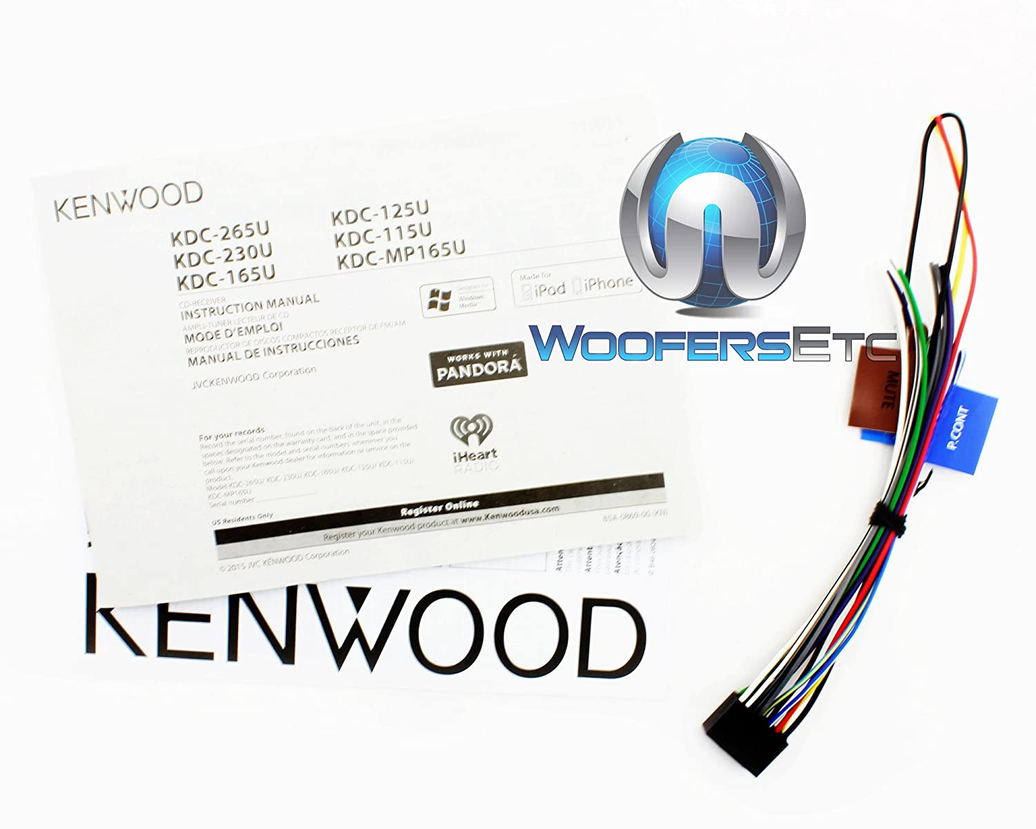 kenwood kdc 165u wiring diagram   31 wiring diagram images