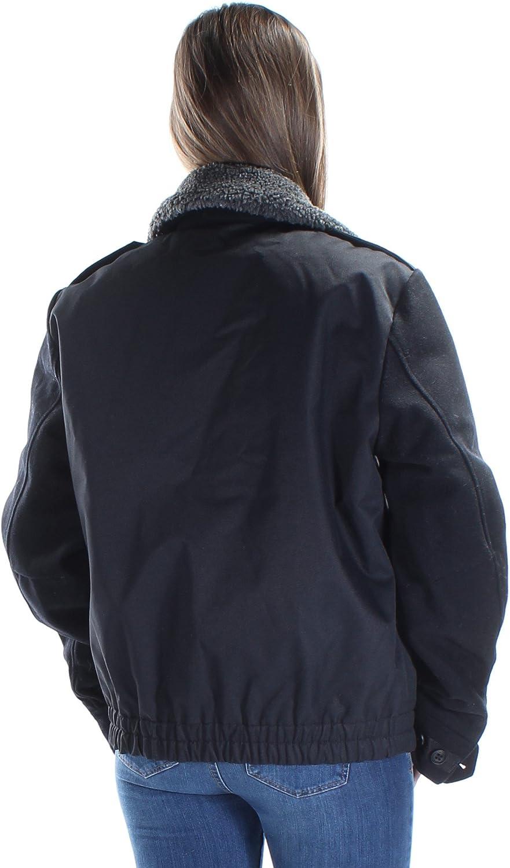 Nautica Mens Fleece-Collar Bomber Jacket