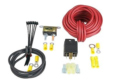 amazon com aeromotive 16301 fuel pump wiring kit 30 amp automotive rh amazon com Auto Electrical Connectors Pertronix Wiring