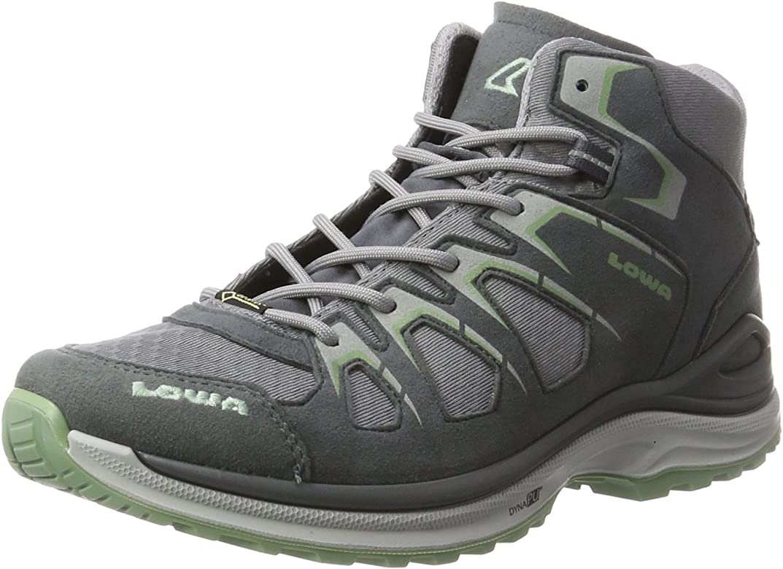 Lowa Innox EVO GTX Qc WS, Zapatillas de Senderismo para Mujer, Gris (Grey/Jade), 43.5 EU: Amazon.es: Zapatos y complementos