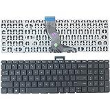 GAOCHENG Laptop Keyboard for HP Pavilion 15-AU000 15-AU010WM 15-AU013NO 15-AU017TU 15-AU018WM 15-AU020TU 15-AU022TX 15-AU023CL with Backlight Without Frame Sliver United States US 856035-001