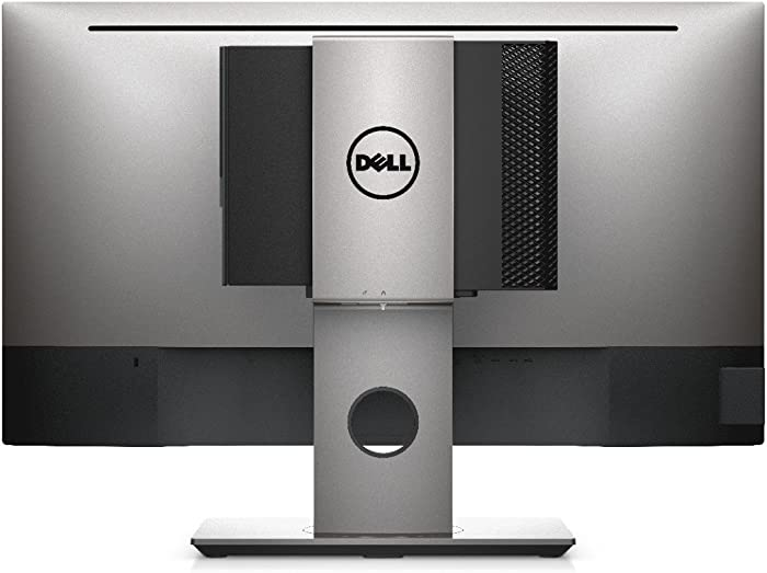 "Dell MFS18 Compact Micro Form Factor All-in-One Stand Supports 19"" to 27"" Dell Ultra Sharp and P Models"