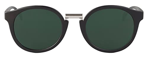 MR.BOHO, Matte black fitzroy with classical lenses - Gafas De Sol unisex color negro, talla única