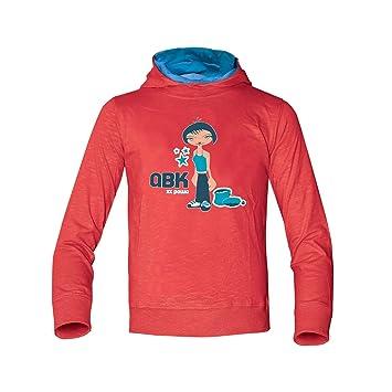 50eff86db9b5d3 ABK Powa XX Slim Sweat Sweatshirt Damen, Rot (Light Magma), XXS ...
