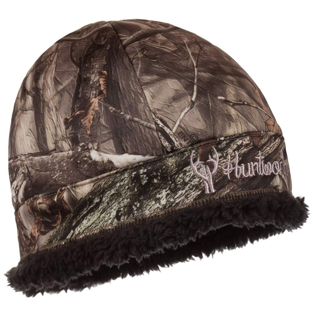 Huntworth Performance Fleece Hat, Hidden Camo, One Size by Huntworth