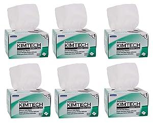 Kimtech Science Task Wipes Six Pack Kimwipes KCC34155-06 (Original Version)