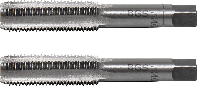 Starter /& Plug Tap BGS 1900-M11X1.0-B M11 x 1.0 Tap Set 2 pcs.