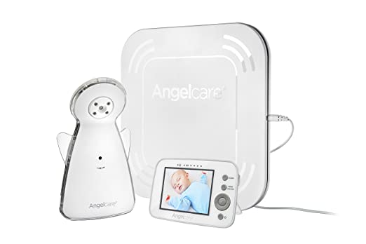 Amazon Angelcare Video And Movement With Sound Monitor White