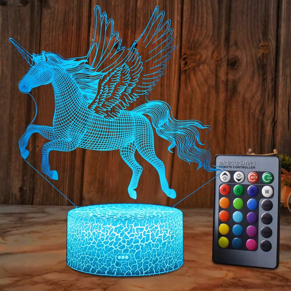 Kids Room Chandelier Unicorn Light Girl/'s  Princess Room Chandelier Unicorns