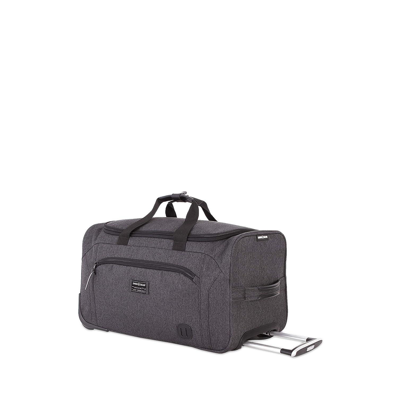 ccf24af61cb4 SWISSGEAR Getaway Weekend Wheeled 19-inch Duffel Bag   Rolling Travel  Luggage   Men's and Women's - Dark Gray
