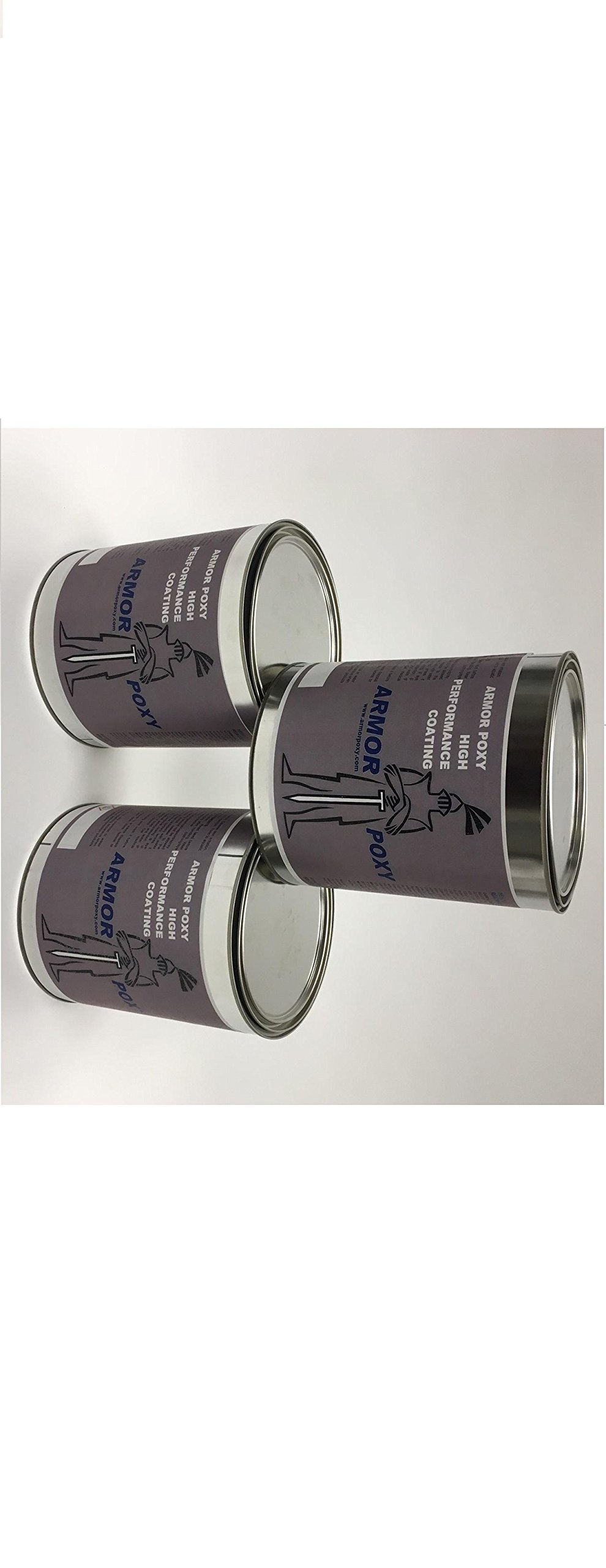 ArmorUltra 3 Gal Kit Epoxy 100% Solids, Blue