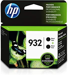 HP 932 | 2 Ink Cartridges | Black | CN057AN