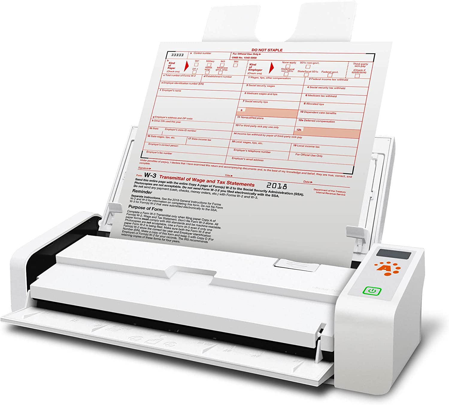 Ambir nScan 700gt Hybrid Duplex Document Scanner