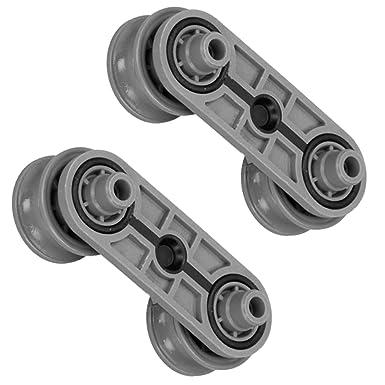 Spares2go Cesto Ferroviario carga cajón accesorio de rueda ...