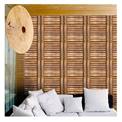 Wood Plank Wallpaper Peel And Stick 3d Rustic Contact Paper