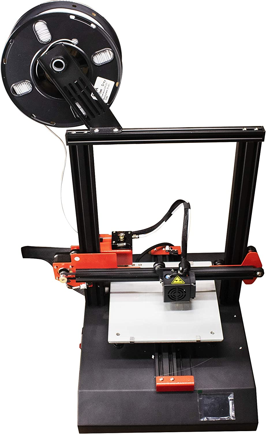 LAFVIN 3D Printer with Automatic Memory,Dual extruder Design Size 100x80x120mm