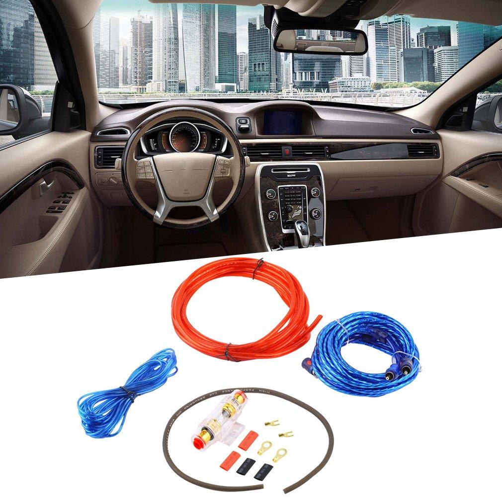 Sookg Newest 800 W 8 Ga Car Audio Subwoofer: Amazon.de: Elektronik