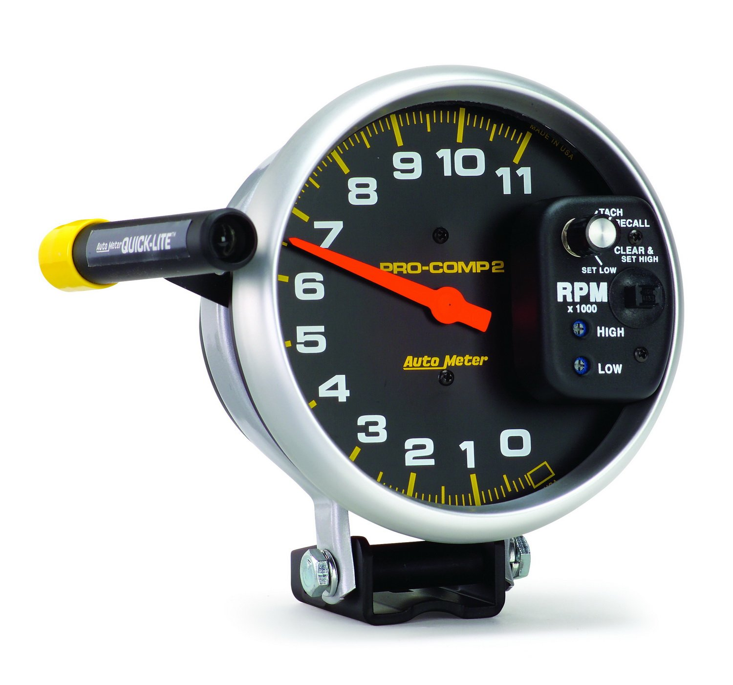 Amazon.com: Auto Meter 6857 Pro-Comp Single Range Tachometer: Automotive