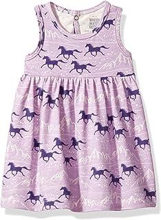 46ec5f7c3 Amazon.com  Winter Water Factory Oslo Baby Dress Swans Magenta 6 ...