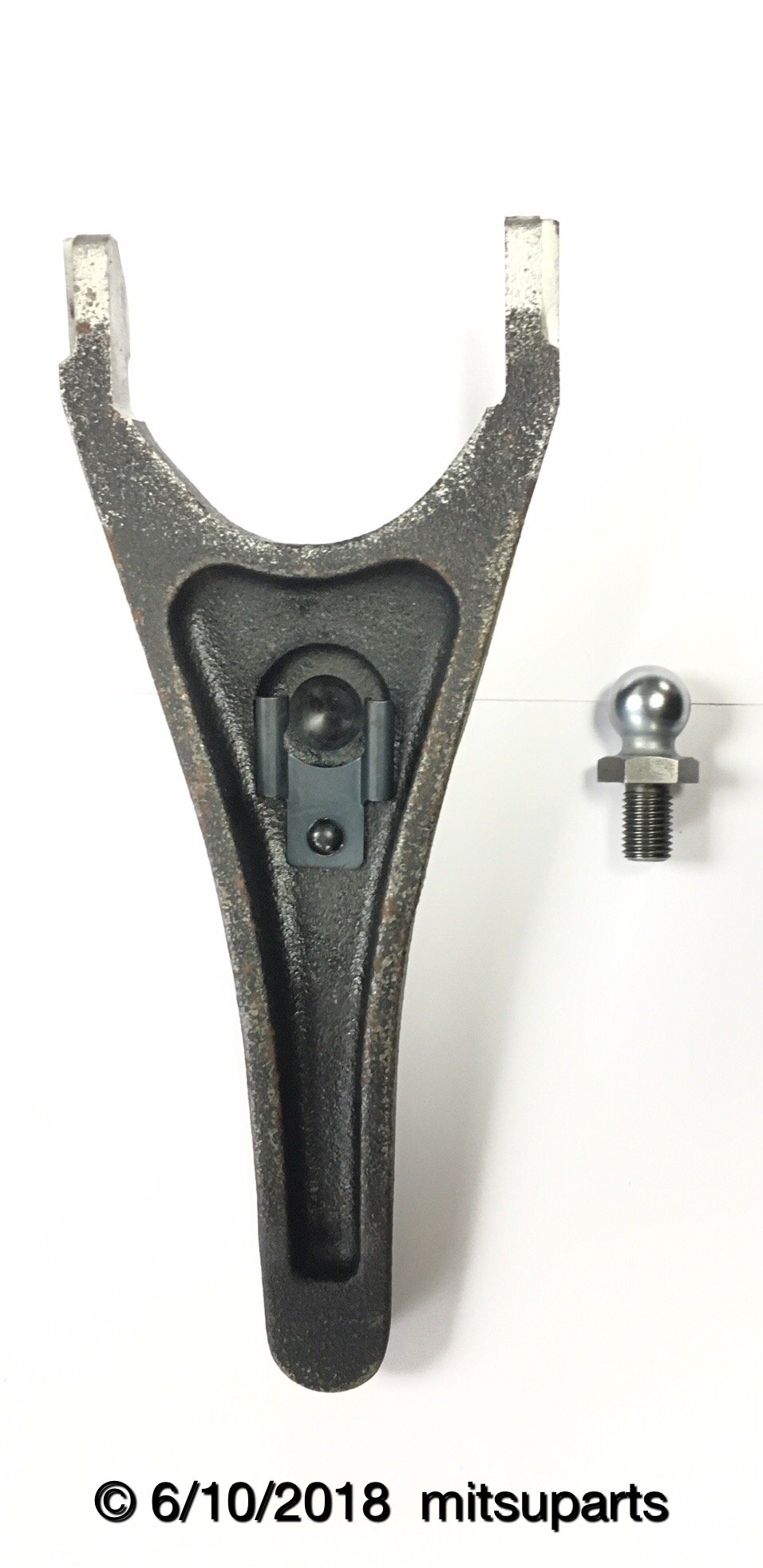 Genuine Mitsubishi OEM CLUTCH RELEASE ARM FORK & FULCRUM PIVOT BALL 3000GT VR-4 Also Compatible with Dodge STEALTH TURBO 1991 1992 1993 1994 1995 1996 1997 1998 1999