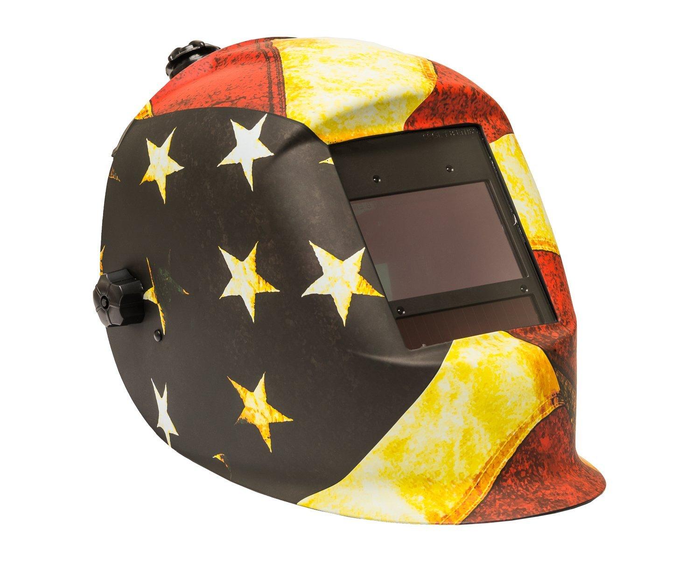 Forney 55712 Master Series Patriot Auto Darkening Welding Helmet