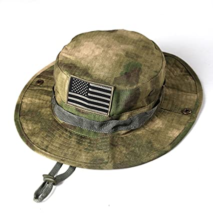 76845f7bb5b22 Image Unavailable. Image not available for. Color  massmall Military  Tactical Head Wear Boonie Hat ...