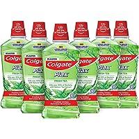 Colgate Plax Mouthwash, Fresh Tea, 1L (Pack of 6)