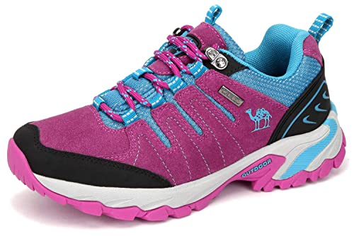 1e62d64d7f026 Camel Walking Shoes Women Hiking Shoes Suede Climbing Shoes, Slip On Running  Shoes Safety Shoes