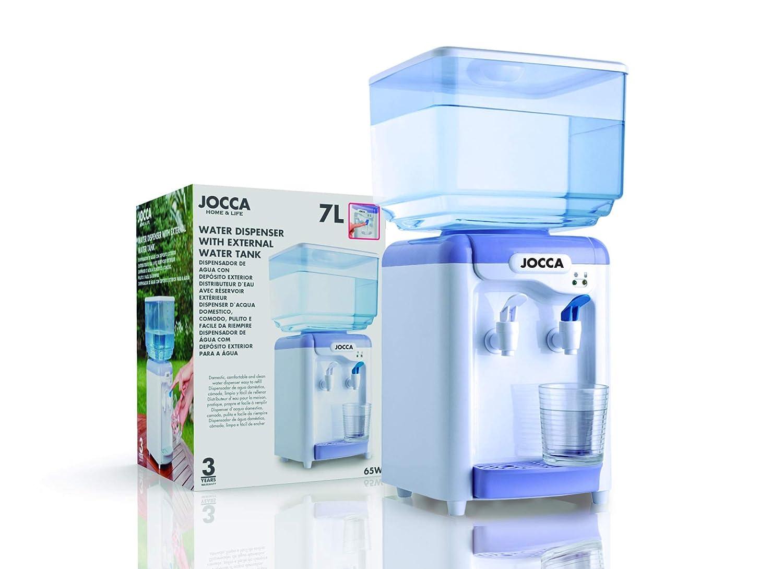 Jocca 1102u - Dispensador de Agua con depósito, Color Blanco.: Amazon.es: Hogar