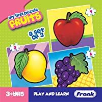 Frank  Fruits Puzzle For 3 Year Old Kids And Above
