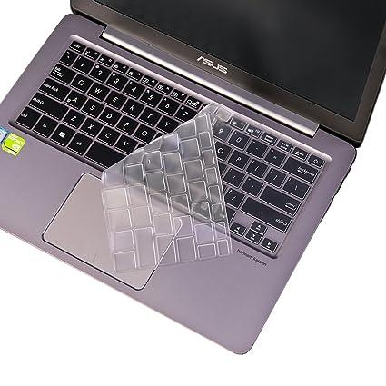 jrcmax teclado para, Premium Ultra Delgado Teclado protector de pantalla para Asus Zenbook UX31 A