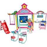 ​Barbie Club Chelsea Doll and School Playset,...