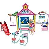 Barbie Club Chelsea Doll and School Playset,...