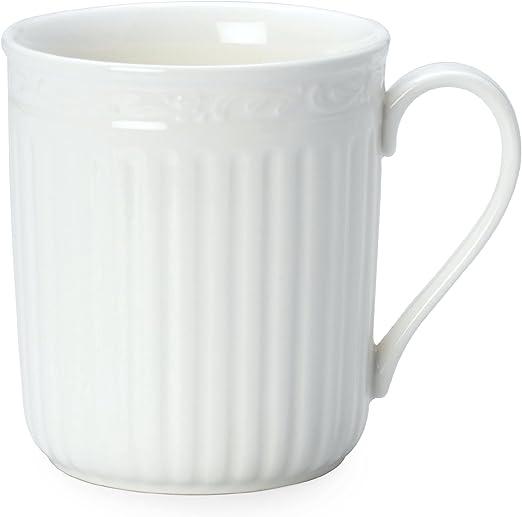 Fluted Blue Mikasa Italian Countryside Accents Coffee Mug