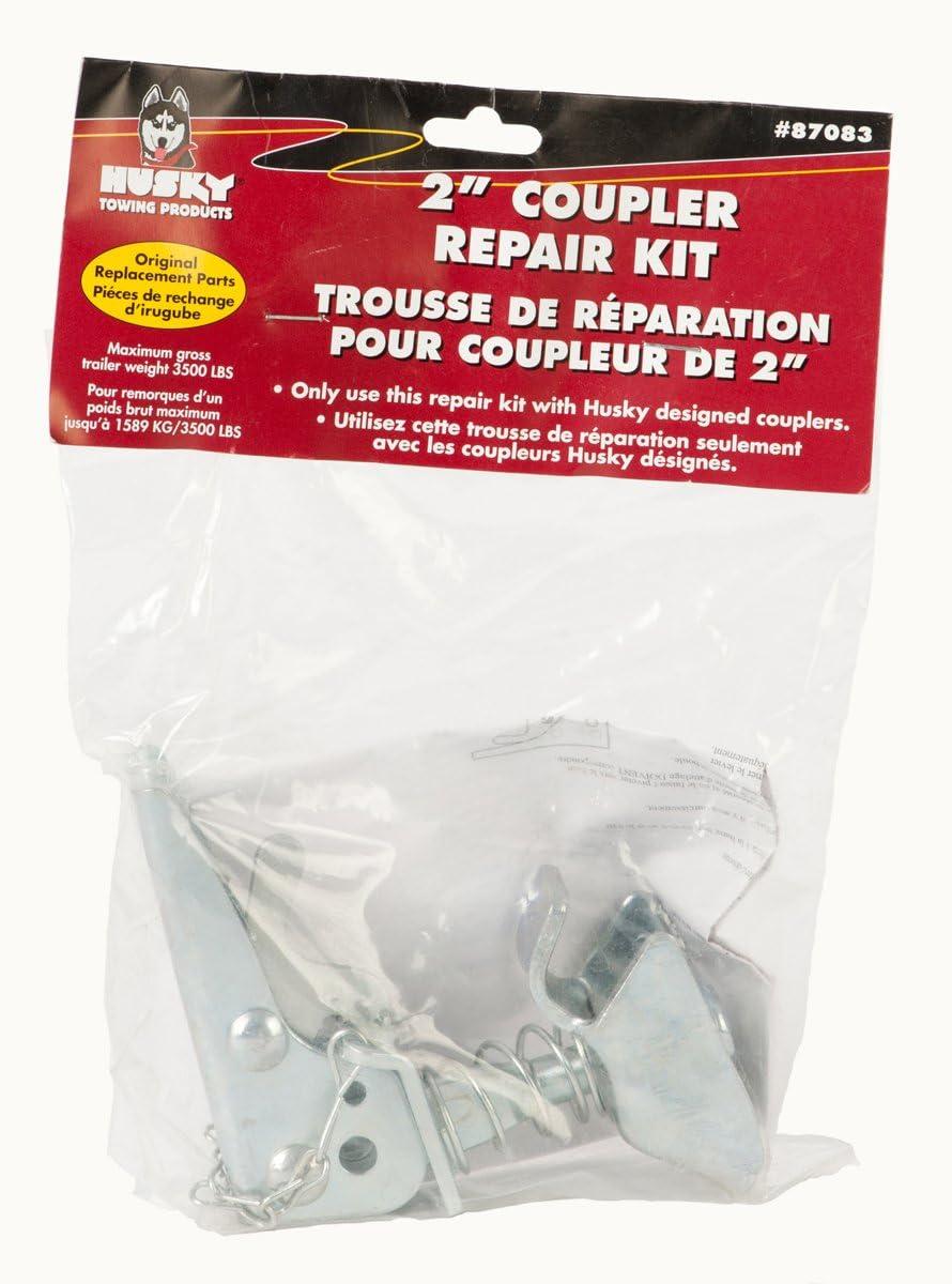 Coupler Repair Kit,Grey Husky 87083 2 3,500 lbs