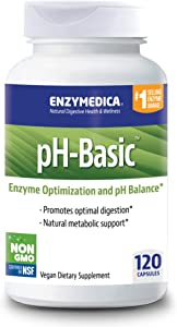 Enzymedica, pH-Basic, Enzymes to Support Healthy Digestion and pH Balance, 120 Capsules (FFP)