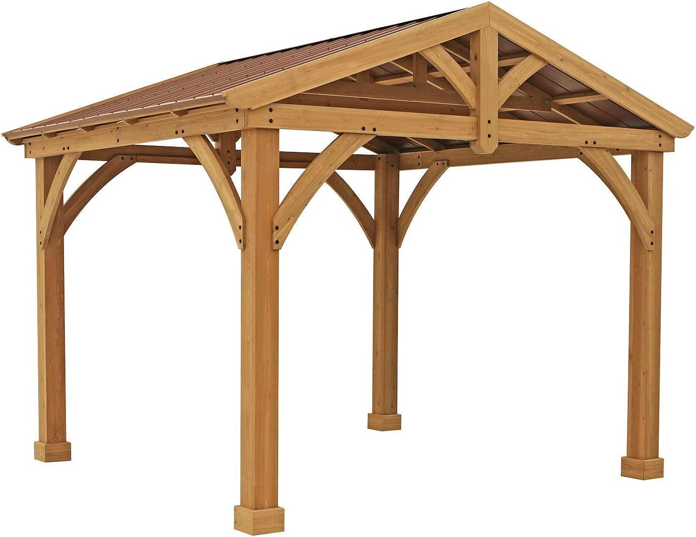 Premium de madera de cedro & metal 12